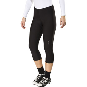 Löffler Basic Spodnie rowerowe 3/4 Kobiety, black